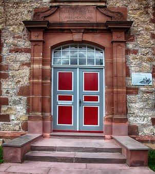 Front Door, Door, House Entrance, Old Door, Input, Old
