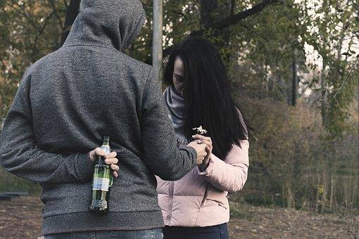 Quarrel, Conflict, Reconciliation, Girl, Man