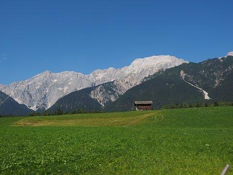 Mieminger Chain, Mountain Range, High Slopey, High Wall