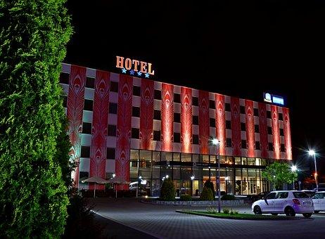 Poland, Kraków, Architecture, Hotel