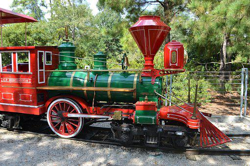 Huntington Train, Herman Park, Children's Train, Kids
