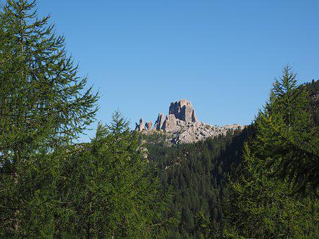 Cinque Torri, Five Towers, Mountain, Mountain Group
