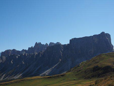 Dolomites, Mountains, Mountain Group, Cima Ambrizzola