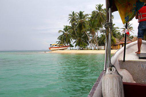 Panama, Landscape, Beach, Nature, Mar, Litoral