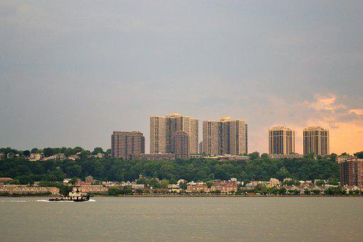 New York City, Hudson River, Tug Boat, New Jersey, Nyc