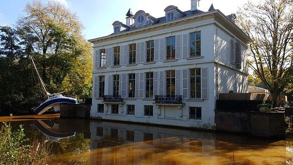 Middelheim, Park, Castle, Antwerp, Historic Building
