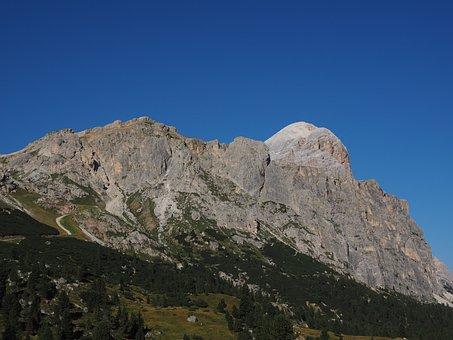 Tofana De Rozes, Mountain, Mountains, Passo Falzarego