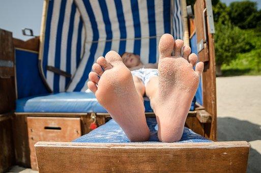 Beach Chair, Recovery, Holiday, Beach, Relax, Summer