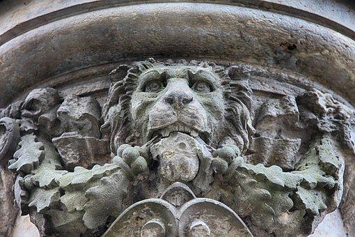 Lion, Sculpture, Stone Figure, Stone Sculpture, Statue
