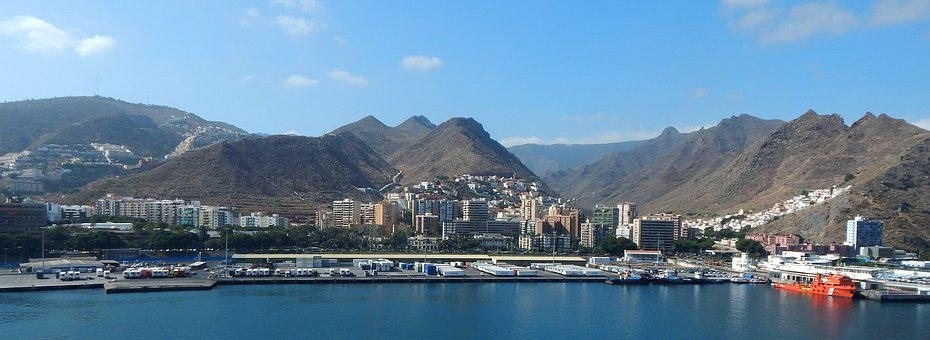 Tenerife, Santa Cruz, Canary Islands, Port, City