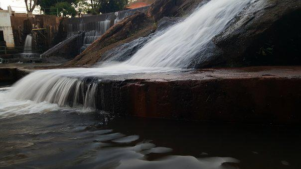 S6 Edge Samsung, Body Of Water, Waterfall, Rio