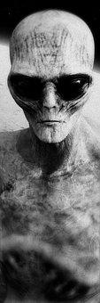 Stranger, Alien, 3d Model, Ufo, Fantastic