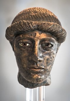 Bronze Head, Acropolis Museum, Ancient Greece