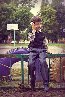 Schoolboy, School, Study, September 1, Apprentice