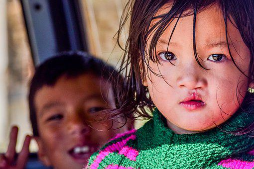 Portrait, Kid, Bhutan, Bhutanese