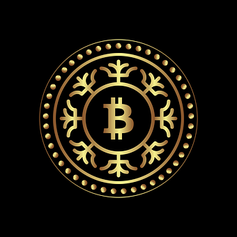 Bitcoin, Gold, Currency, Coin, For Web, For Design