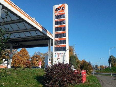 Petrol Stations, Refuel, Gas Pump, Petrol, Fuel, Diesel