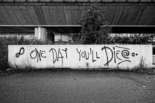 Graffiti, Text, Wall, Urban, Lettering, Words, Grunge
