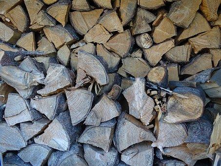 Wood, Logs, Fuel, Heating, Beech, Oak, Spruce, Birch