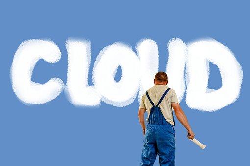 Cloud, Cloud Computing, Man, Painter, House Painter