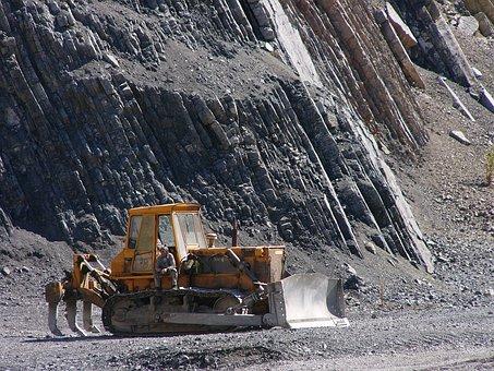 Bulgaria, Industry, Excavator, Bulldozer, My