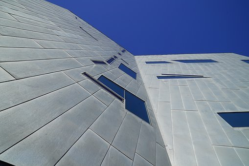 Modern Architecture, Metal Cladding Frontage