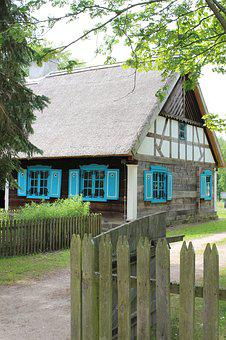 Open Air Museum, Village, Old House, Poland, Folklore