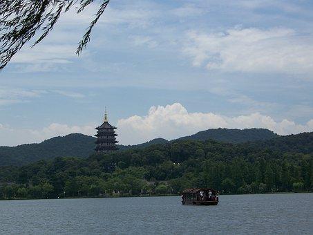 Hangzhou, West Lake, Pagoda