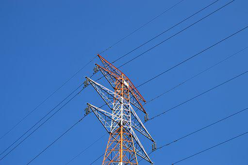 Sky, Frontline, Power Transmission Tower, Electric
