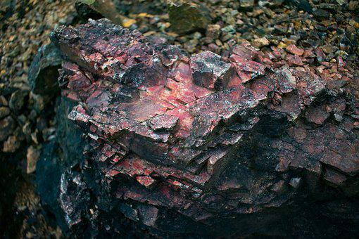 Stone, Ore, Red Stones, Black Stone