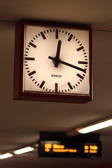 Station Clock, Clock, Time Indicating, Time