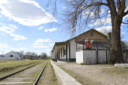 Train Station, The Decision, San Luis, Argentina