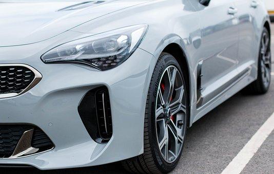 Kia Stinger Gt, Car, Wheel, Vehicle, Auto