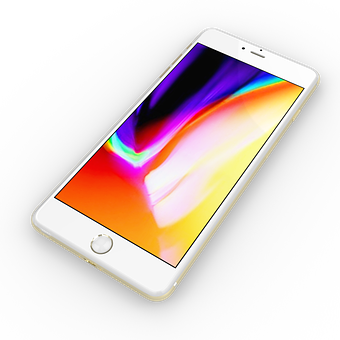 Iphone, Render, Display, Technology, White, Mobile