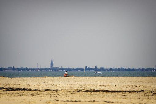 Beach, Ronce-les-bains, Late Summer, Ocean