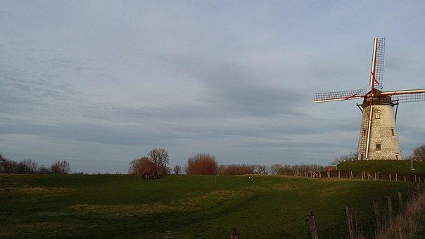 Mill, Damme, Bruges