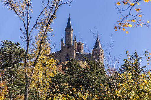 Hohenzollern, Hohenzollern Castle, Castle, Germany
