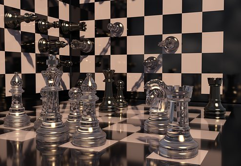 Chess, Chess Board, Play, Strategy, Art, Chess Pieces