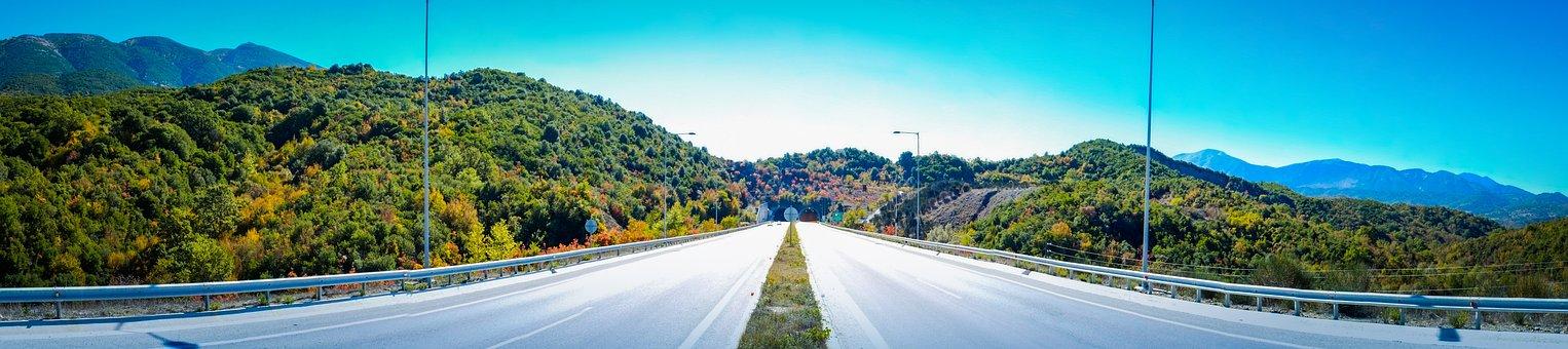 Via Egnatia Route, Motorway, Expressway, Road