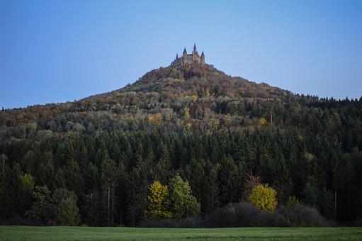 Hohenzollern Castle, Castle, Swabian Alb, Fortress