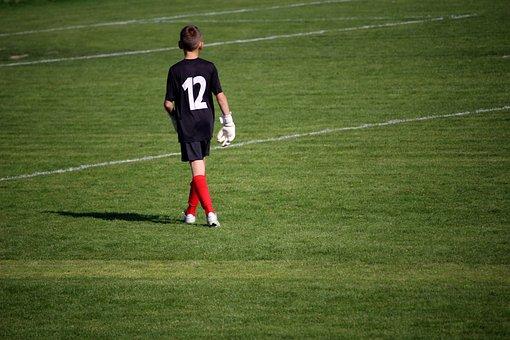 Goalkeeper, Football, Boy, Player, Players, Sport