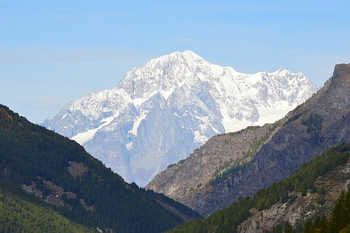 Alpine, Mont Blanc, High Mountains, Gran Paradiso