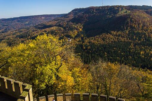 Landscape, Swabian Alb, Nature, Alb, Sky, Mountain