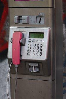 Public Telephone, Phone, Public, Communication