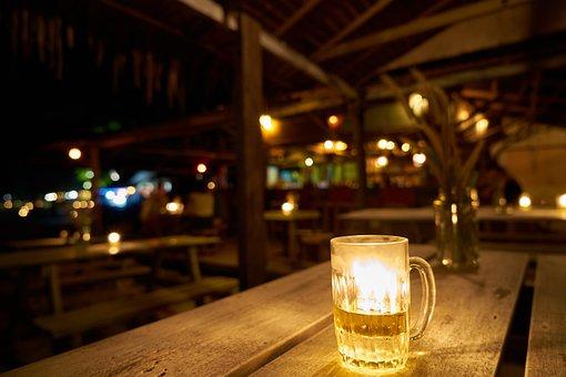 Beer, Bar, The Drink, Light, Alcohol, Beverage, Photo