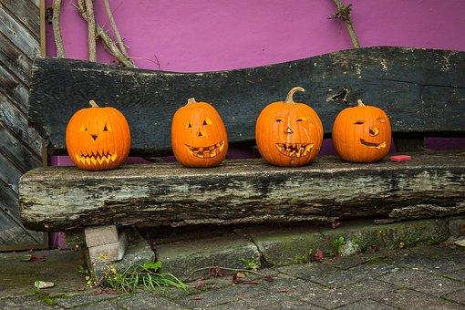 Pumpkin, Halloween, Autumn, Gourd, Fash, Horror