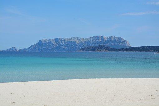 Sardinia, Tavolara, Beach, Sea, Island, Water