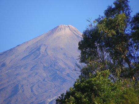 Tenerife, Teide, Canary Islands, Volcano, Spain, Island