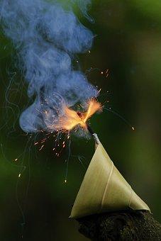 Sparkler, Festival, Light, Deepavali, Diwali