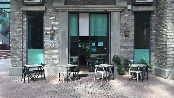 Coffee Shop, Cafe, Small Business, Outdoor